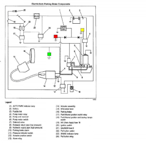 AutoPark block diagram for the Version III AutoPark system. Again, the Genie Lamps are inserted into the circuit
