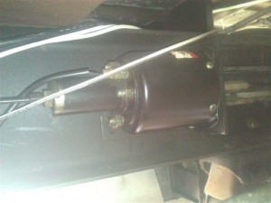 AutoPark parking brake system actuator without a light switch