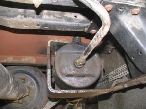 Auto Park Actuator picture (rear view), 1991 version I